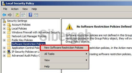 local-security-policy-software-restriction